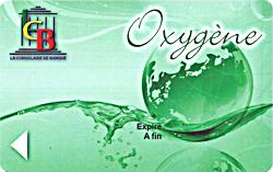 Carte oxygène