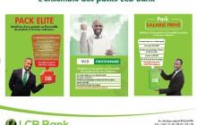 LANCEMENT D'UN NOUVEAU PRODUIT PACK DESTINE A LA CLIENTELE DE LCB BANK