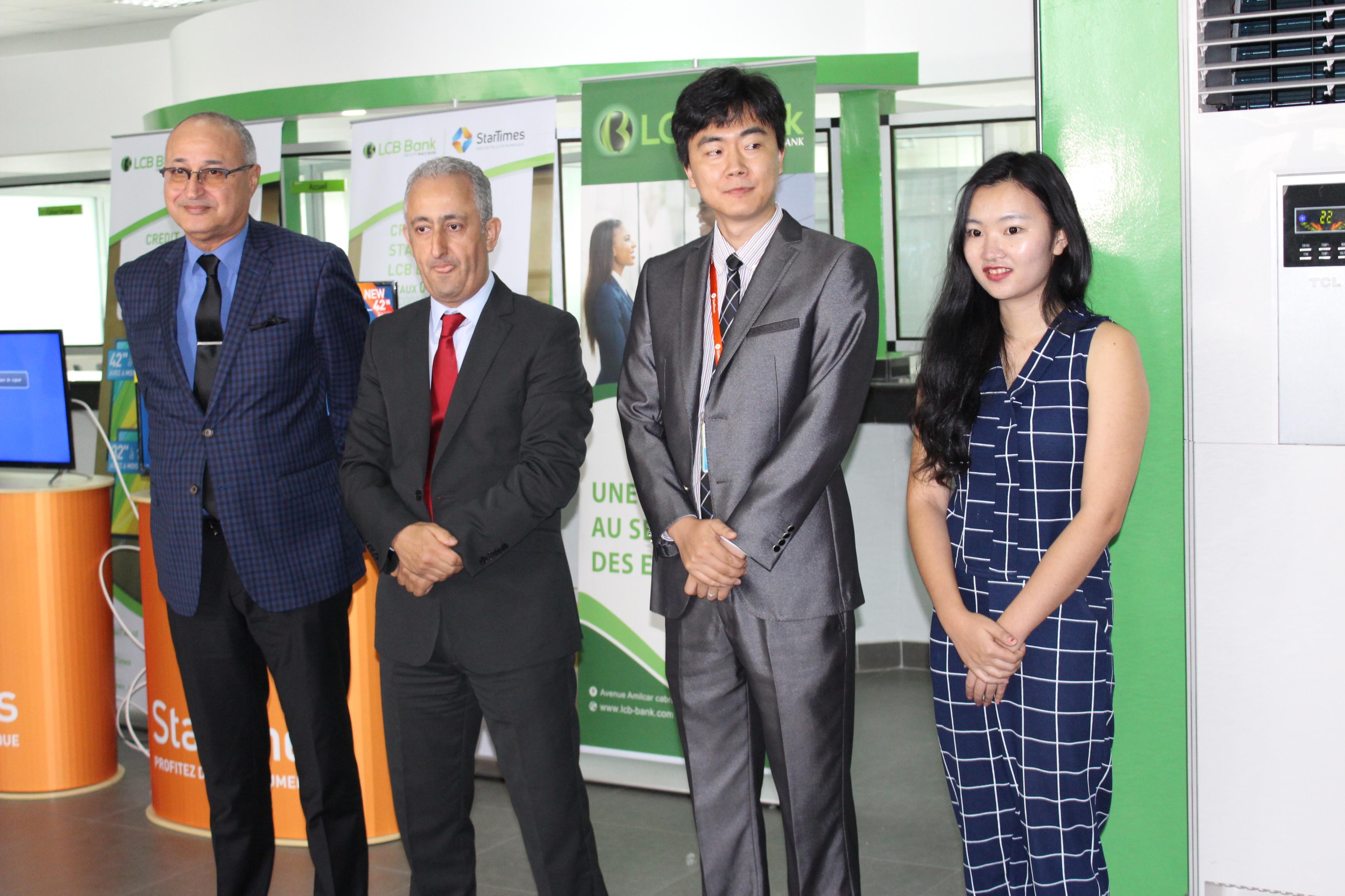 Photo DG LCB Bank avec le ministre_V3